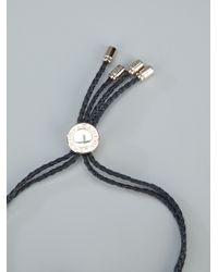 BVLGARI - Black Charm Bracelet for Men - Lyst