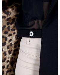 Dolce & Gabbana | Black Oversize Blazer | Lyst