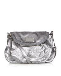 658e9fbea649 Marc By Marc Jacobs Classic Q Natasha Crossbody Bag in Metallic - Lyst