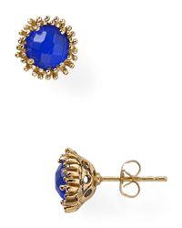 Kendra Scott - Blue Carly Stud Earrings - Lyst