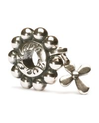 Trollbeads | Metallic Rosary Bead | Lyst