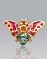 Jay Strongwater - Multicolor Cody Mini Bee Tack Pin - Lyst