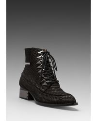 Jeffrey Campbell - Archer Bootie in Black - Lyst