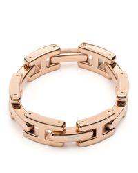 Tommy Hilfiger - Pink H Link Bracelet - Lyst