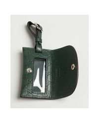 Gucci - Green Guccissima Leather Luggage Identification Tag - Lyst
