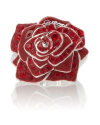 Guess | Red Rose Ring | Lyst