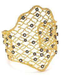 Alexis Bittar | Metallic Jardin De Papillon Large Lace Cuff | Lyst