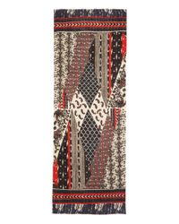 Me and Kashmiere - Black and Red Adorn Cashmere Scarf for Men - Lyst