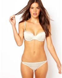 Stella McCartney - Natural Cameron Surfing Bikini Brief - Lyst