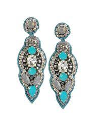 Deepa Gurnani - Blue Earrings - Lyst