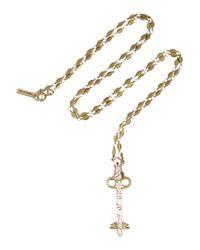 Isabel Marant - Metallic Gold-tone Resin Key Necklace - Lyst