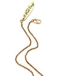 A Peace Treaty - Metallic Mae Mini Horseshoe Necklace - Lyst