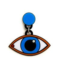 Yazbukey | Blue Eyes Earrings | Lyst