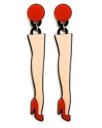 Yazbukey | Multicolor Legs Earrings | Lyst