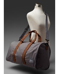 Herschel Supply Co. | Gray Ravine Bag in Grey/tan | Lyst