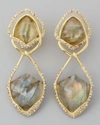 Alexis Bittar - Metallic Orbiting Labradorite Clip Earrings - Lyst