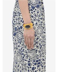 Ela Stone - Metallic Biba Stone Cuff Bracelet - Lyst