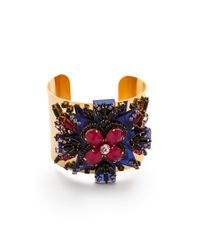 Erickson Beamon | Metallic Girls On Film Cuff Bracelet | Lyst