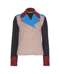 Marc By Marc Jacobs - Multicolor Nicoletta Doublebreasted Wool Jacket - Lyst