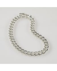 Lauren by Ralph Lauren | Gray Silver Chain Choker Necklace | Lyst