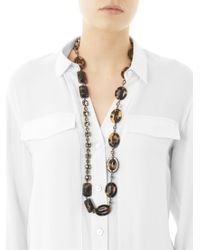 'S Max Mara - Gray Koben Necklace - Lyst