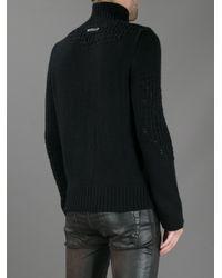 Diesel Black Gold - Black Kiarturo Sweater for Men - Lyst
