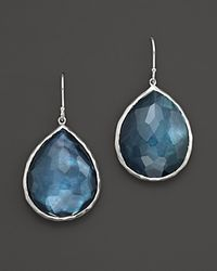 Ippolita | Metallic Sterling Silver Large Teardrop In Indigo | Lyst