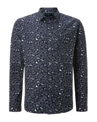 Paul Smith - Blue Barnacle Print Shirt for Men - Lyst