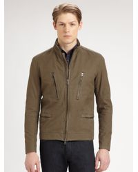 Theory - Natural Ekon Lethbridge Jacket for Men - Lyst