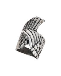 TOPSHOP - Metallic Wing Wrap Ring - Lyst