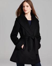 Trina Turk - Black Coat - Ali Wrap - Lyst