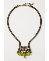 Anthropologie | Green Animalia Heirloom Necklace | Lyst