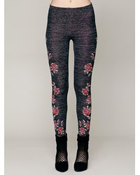 Free People | Gray Winter Story Sweater Legging | Lyst