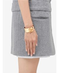 Eddie Borgo - Metallic Hook Latch Bangle - Lyst