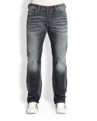 DIESEL | Blue 'tepphar 0855g' Jeans for Men | Lyst
