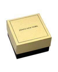 Jones New York - Metallic Goldtone Crystal Hummingbird Pin Box - Lyst