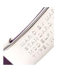 Marc By Marc Jacobs   Metallic Standard Supply Leather Bracelet   Lyst