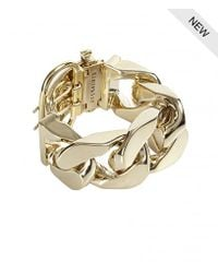 AllSaints | Metallic Valtari Bracelet | Lyst