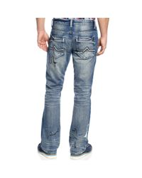 INC International Concepts - Blue Cecil Slim Fit Bootcut Jeans for Men - Lyst