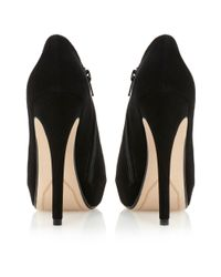Dune - Black Carnival Zip Detail Open Shoe Boots - Lyst