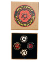 ASOS | Multicolor Fred Perry Pin Badge Set | Lyst