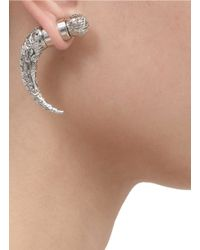 Givenchy - Metallic Carved Shark Magnetic Earring - Lyst