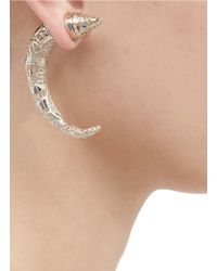 Givenchy | Metallic Large Carved Shark Magnetic Earring | Lyst