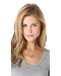 House of Harlow 1960 - Natural Mini Sunburst Necklace - Lyst