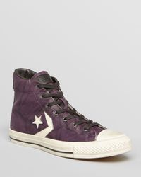 Converse - Purple By John Varvatos Star Player Ev High Top Sneakers for Men - Lyst