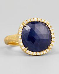 Marco Bicego | Metallic Siviglia 18k Blue Sapphire Ring | Lyst