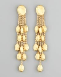 Marco Bicego | Metallic Siviglia 18k Gold 5-strand Drop Earrings | Lyst