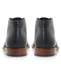 Ted Baker - Black Torsdi Leather Ankle Boots for Men - Lyst