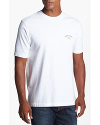 Tommy Bahama | White Head in The Game Tshirt for Men | Lyst