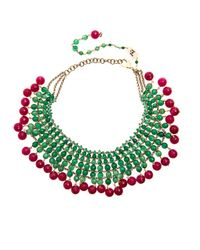 Rosantica | Red Orchidea Jade Agate Necklace | Lyst